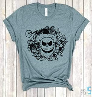 SALLY LOVE  T-shirt . FREE UK POST NIGHTMARE BEFORE CHRISTMAS inspired JACK