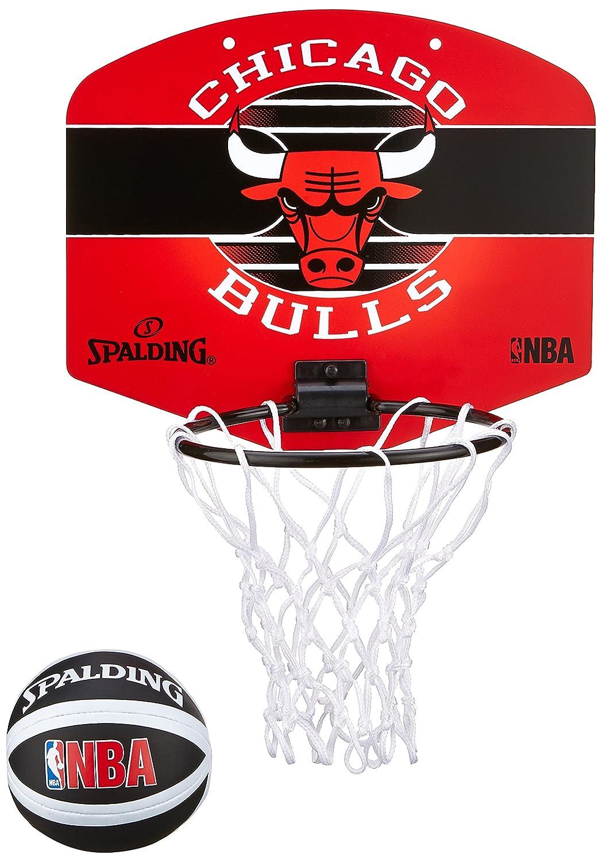 Spalding NBA Miniboard Chicago Bulls Z Minicanasta Multicolor Talla Única