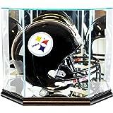 NFL Octagon Full Size Football Helmet Glass Display Case