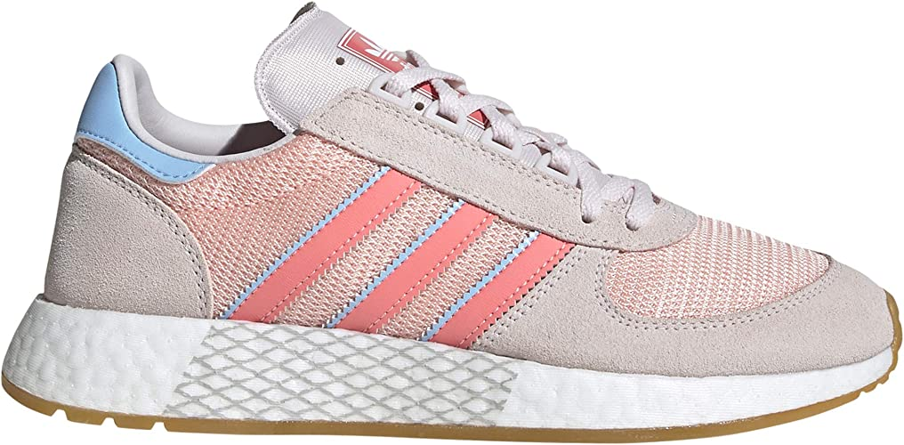 Adidas Marathon Tech W - Zapatillas para Mujer Rosa/Beige ...