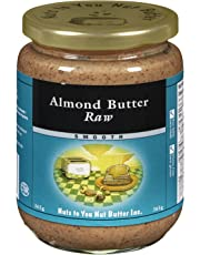 Nuts to You Nut Butter Raw Almond Butter Smooth, 365g