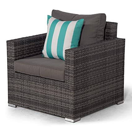 Set Giardino In Rattan.Rattan Garden Lounge Chair Set With All Weather Furniture Covers