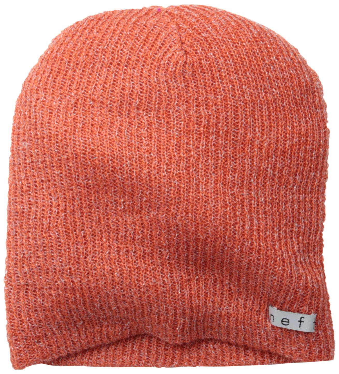 NEFF Women's Daily Sparkle Beanie, Coral, One Size