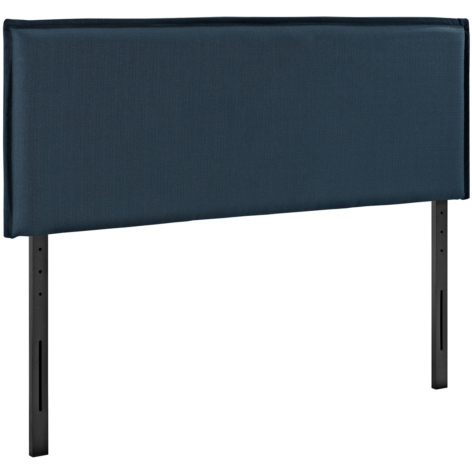 Modway Camille Queen Upholstered Fabric Headboard in Azure