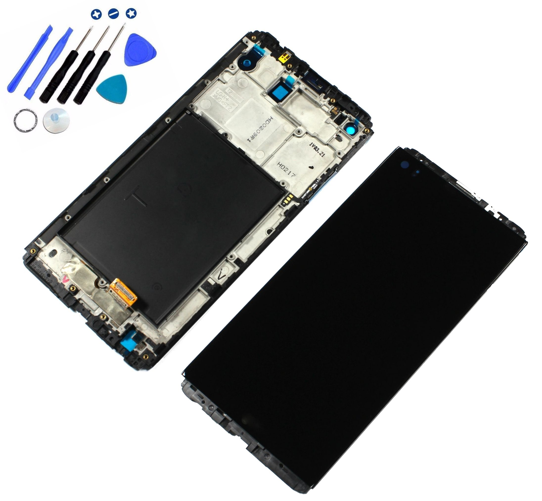 Eaglestar for LG V20 Replacement LCD Screen Assembly with Touch Screen Digitizer and LCD Pre-Installed with Housing Fit LG V20 LS997 US996 VS995 H918 H990 H910 H915 by Eaglewireless