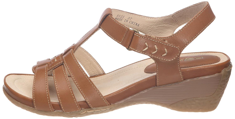39 5121 Chaussures Femme Rohde Sacs Eu Camel Sandales Et Paqx1