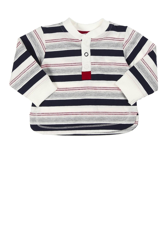 KANZ Striped Long Sleeve Shirt 68 cm//6 Months Grey