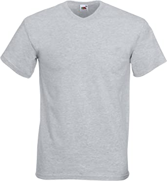 Fruit Of The Loom - Camiseta Básica de pico de manga corta de ...