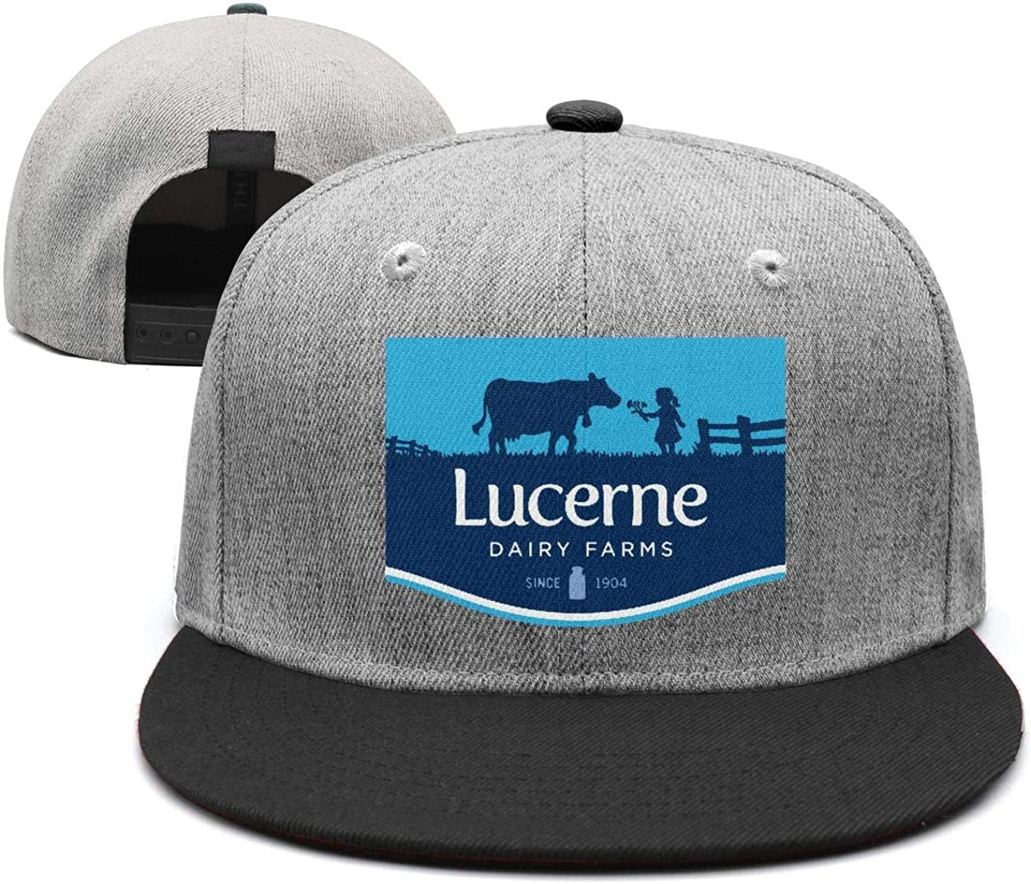 Mens Womens Cool Cap Flat Vintage Lucerne Funny Butter Snapback Golf Hat Printed At Amazon Men S Clothing Store