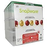 """Snapware13"""" x 13"""" Ornament Box, 3 Layer"""