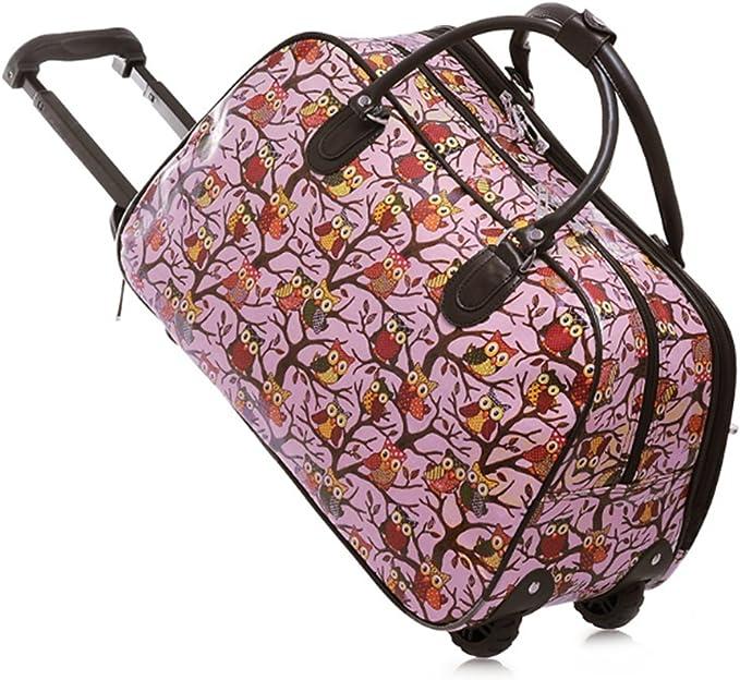 Reisetasche Tasche Sporttasche Damen Mädchen Handgepäck Bordcase Reise Koffer DE