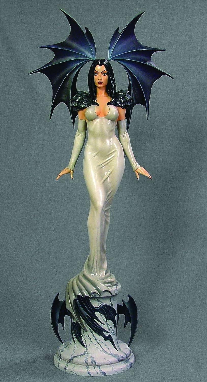 Dark Ivory Statue 38 cm