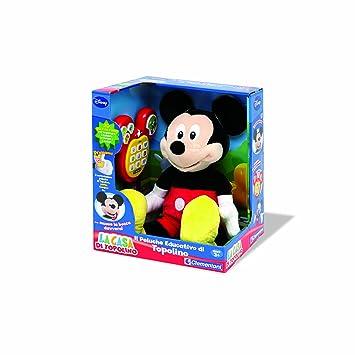 Clementoni 13585 el peluche mágico parlante de Mickey