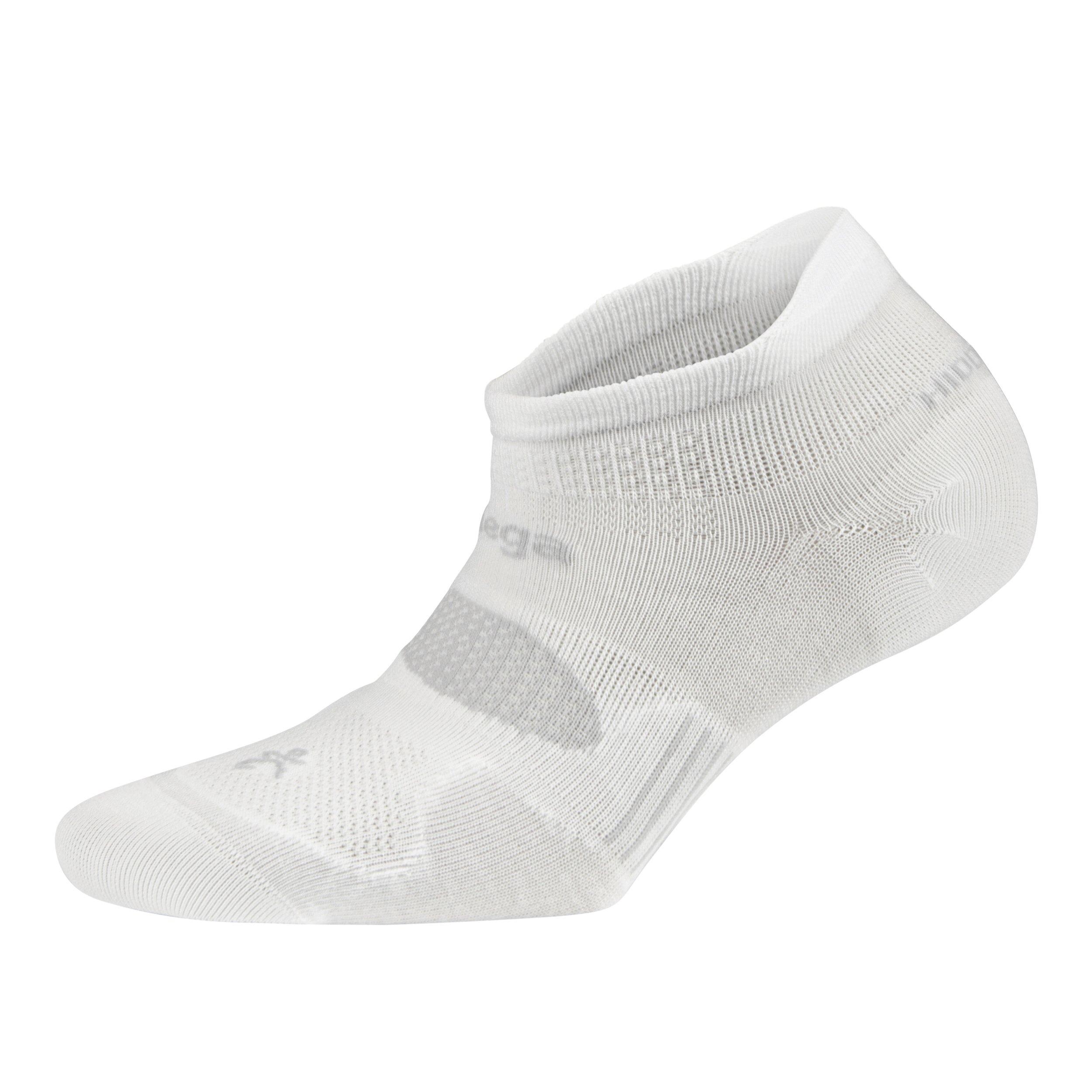 Balega Hidden Dry Moisture-Wicking Socks For Men and Women (1 Pair), White, Medium