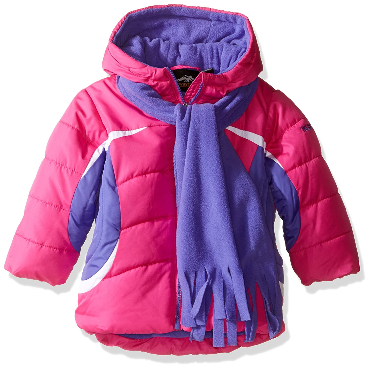 f305d3843 Amazon.com  Pacific Trail Girls  Toddler Color Block Jacket with ...