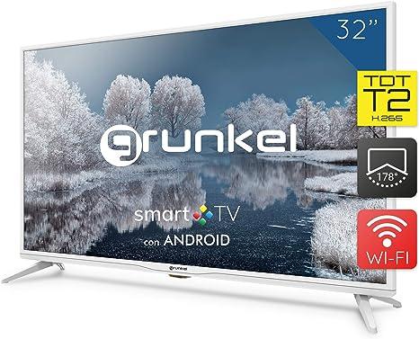 Grunkel - LED-320 IBSMT - Televisor LED Smart TV Wi-Fi: Amazon.es: Electrónica