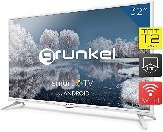 Grunkel - LED-320 IBSMT - Televisor LED Smart TV Wi-Fi: Amazon.es: Electrónica