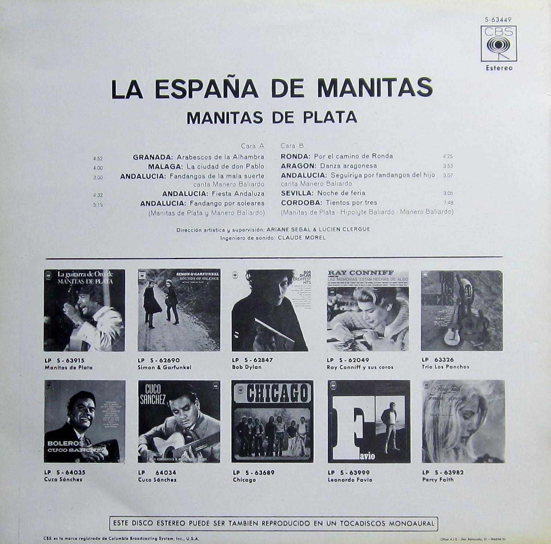 La Espana de Manitas : Manitas de Plata: Amazon.es: Música