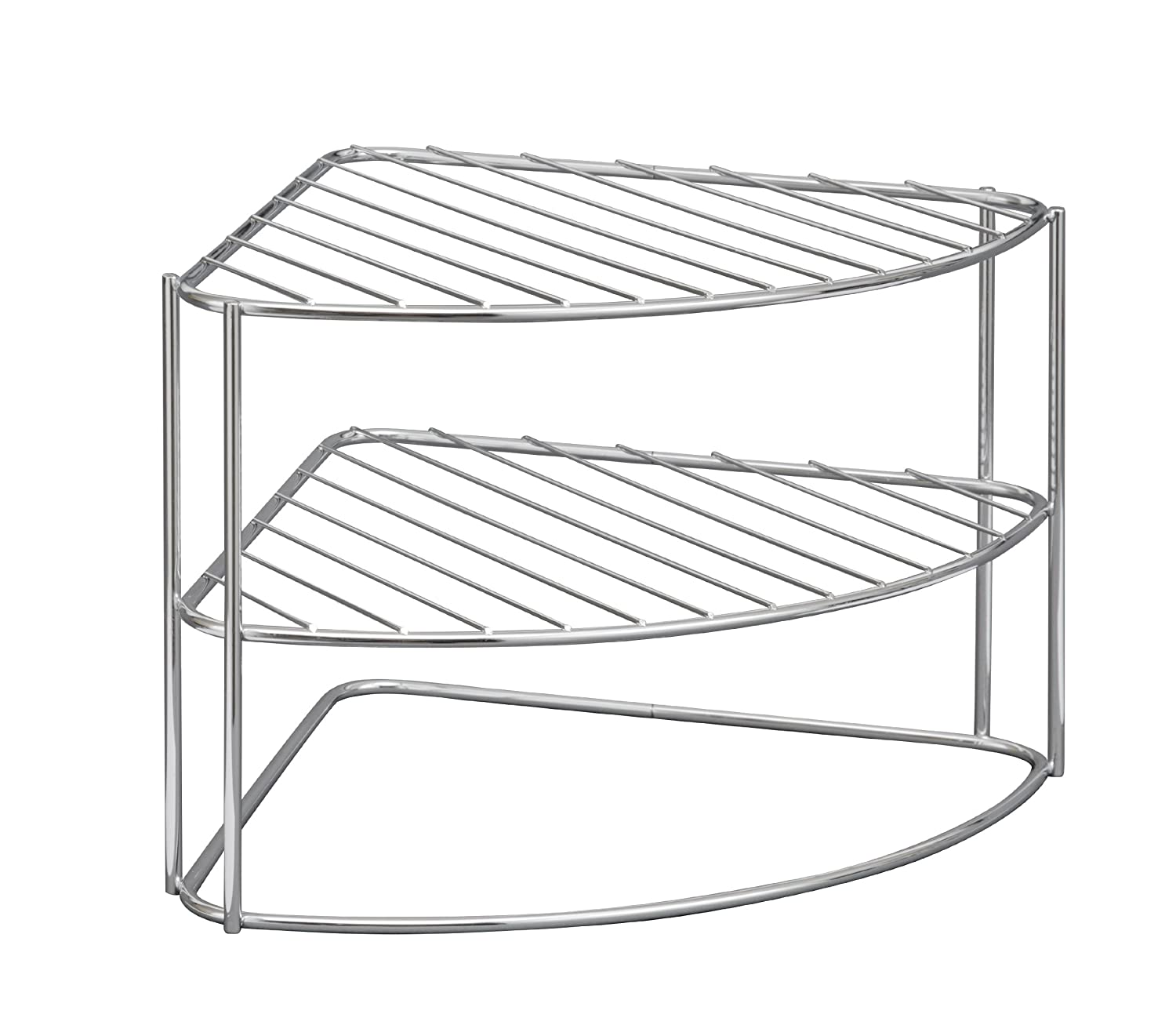 ClosetMaid Chrome Corner Dish or Plate Rack 58220 Amazon.co.uk Kitchen \u0026 Home  sc 1 st  Amazon UK & ClosetMaid Chrome Corner Dish or Plate Rack 58220: Amazon.co.uk ...