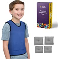 Special Supplies Weighted Sensory Compression Vest for Kids with Processing Disorders, ADHD, and Autism, Calming and…