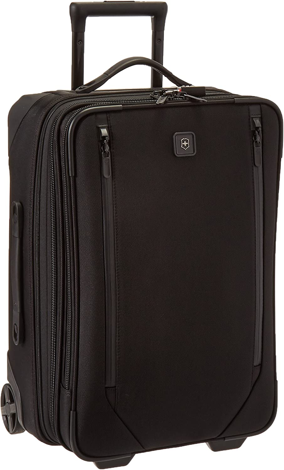 "Victorinox Lexicon 2.0 Softside Expandable Upright Luggage, Black, Carry-On-Global (22"")"