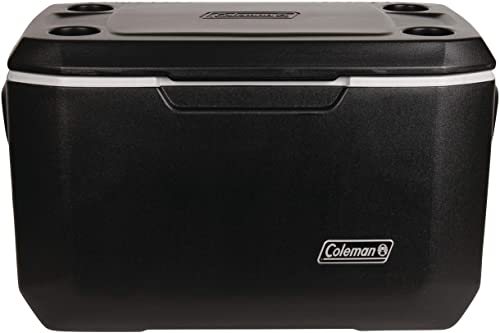 Coleman Cooler Xtreme Cooler Keeps Ice Up to 5 Days Heavy-Duty 70-Quart Cooler