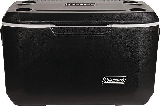 Coleman Xtreme 5 Cooler   70 Quart Day Cooler   Hard Cooler Keeps Ice Up to 5 Days, Black