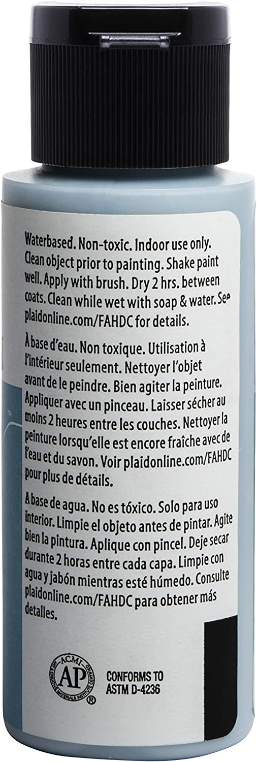 FolkArt Home D/écor Chalk Furniture /& Craft Paint in Assorted Colors French Linen