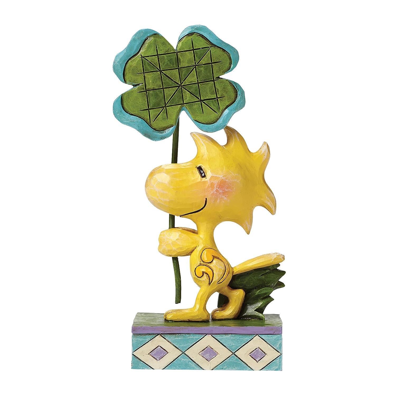 amazon com jim shore woodstock with clover figurine home u0026 kitchen