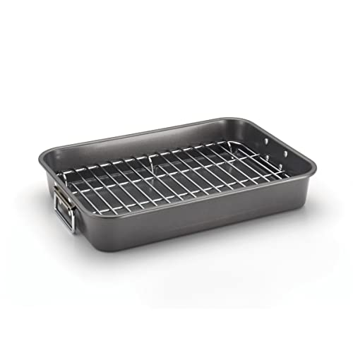 Farberware-57026-Nonstick-Roaster-with-Rack