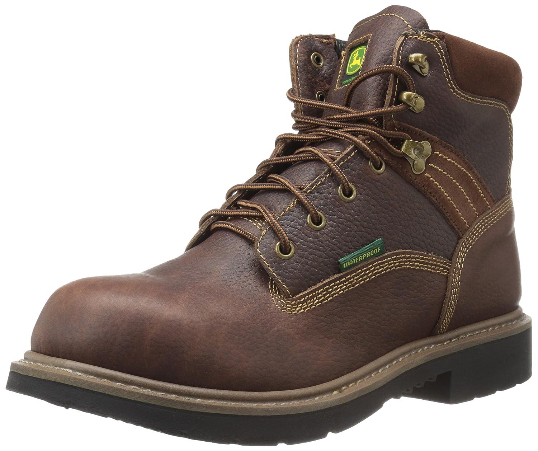 John Deere Men's 6 BRN Waterproof NST Farm/Wrk LU Work Boot B01DOJSNPC 14 D(M) US|Brown