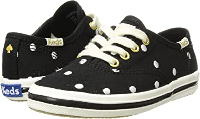 9f9898acb4e Keds Kids Baby Girl s For Kate Spade Champion Seasonal (Toddler) Black  Dancing Dot 5