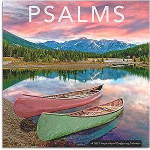 DaySpring Psalms - 2021 Inspirational Christian Wall Calendar