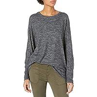 Marca Amazon - Daily Ritual Cozy Knit Dolman Cuff Sweatshirt - athletic-shirts Mujer