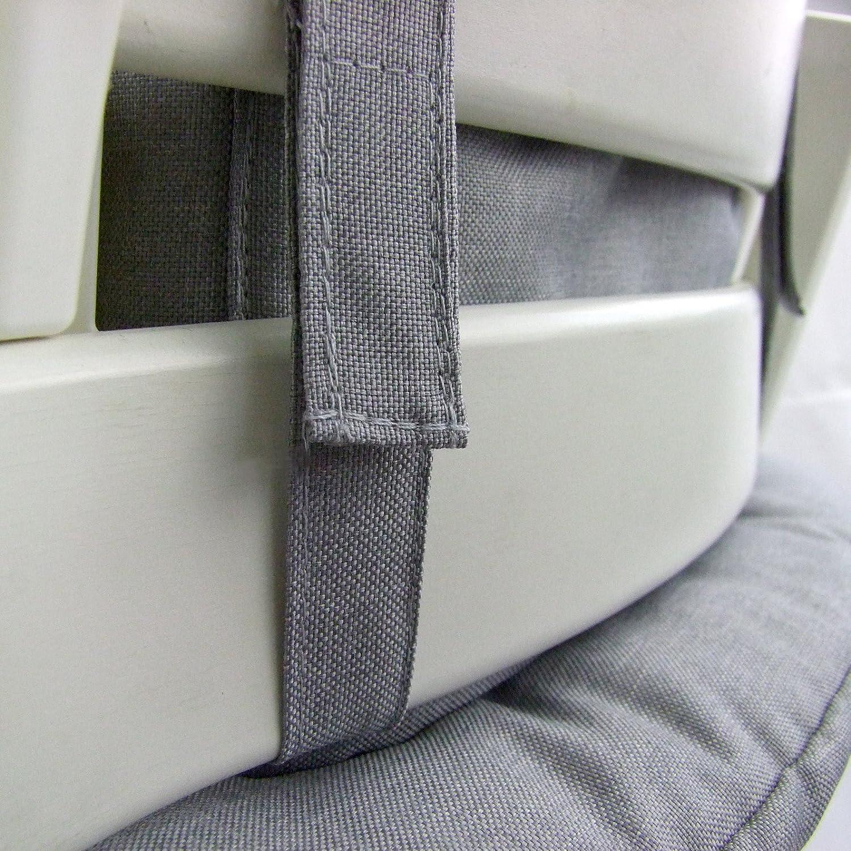 MELIERT Kissen-Set f/ür Hochstuhl//Kinderstuhl Stokke Tripp Trapp beige Sitzverkleinerer BAMBINIWELT Ersatzbezug