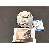 $49 » Logan Gilbert Seattle Mariners Autographed Signed Official Major League Baseball Beckett ROOKIE COA