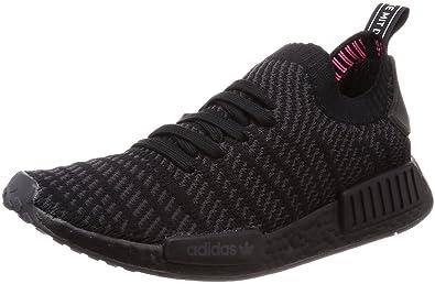 adidas Originals Herren Sneakers NMD_R1 STLT Primeknit Schwarz (15) 402/3