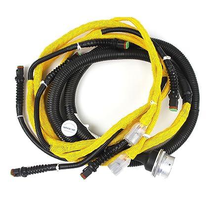Amazon.com: Engine Injection Wiring Harness 6156-81-9211 - SINOCMP on 7.3 alternator harness, 7.3 wire harness, 7.3 fuel harness, 7.3 engine harness,