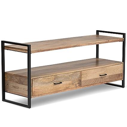 Amazon Com Simpli Home 3axcriv 05 Riverside Solid Mango Wood And
