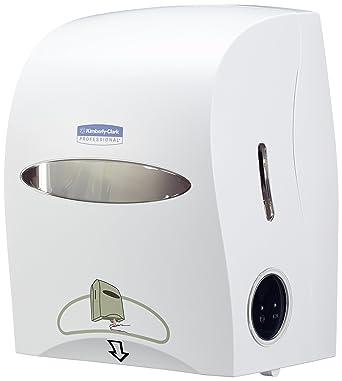 Kimberly-Clark 9960 Dispensador Electrónico de Toallas Secamanos en Rollo, Blanco