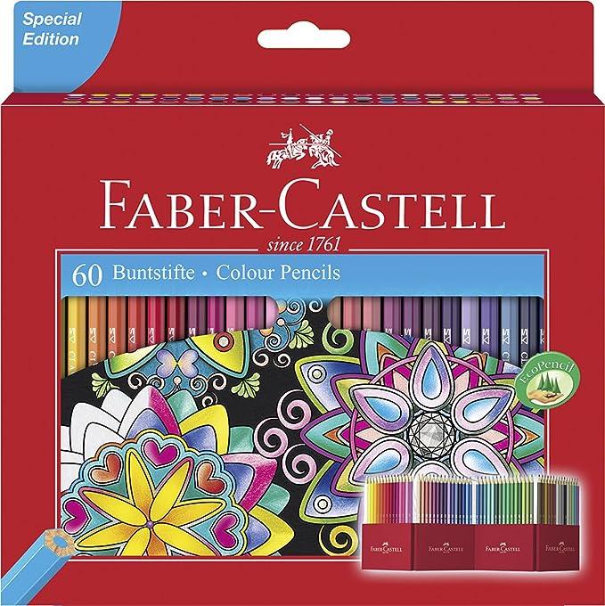 L/ápiz de color 10 pieza Multicolor s s , Multicolor, Ni/ño//ni/ña, Caja Faber-Castell 280921 la/ápiz de color 10 pieza color//modelo surtido