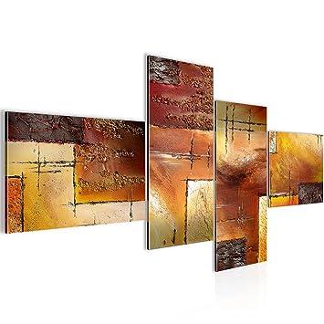 Runa Art Bilder Abstrakt Wandbild Vlies - Leinwand Bild XXL Format ...