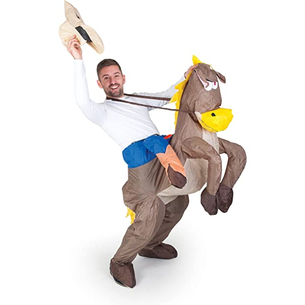 Inflatable Costumes Paul Lamond Games - Disfraz de cowboy ...