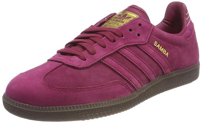 adidas Samba Schuhe Herren rot (rubmis) mit roten Streifen