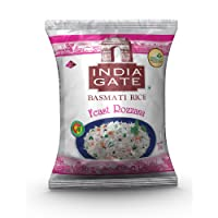 India Gate Basmati Rice Pouch, Feast Rozzana, 1kg