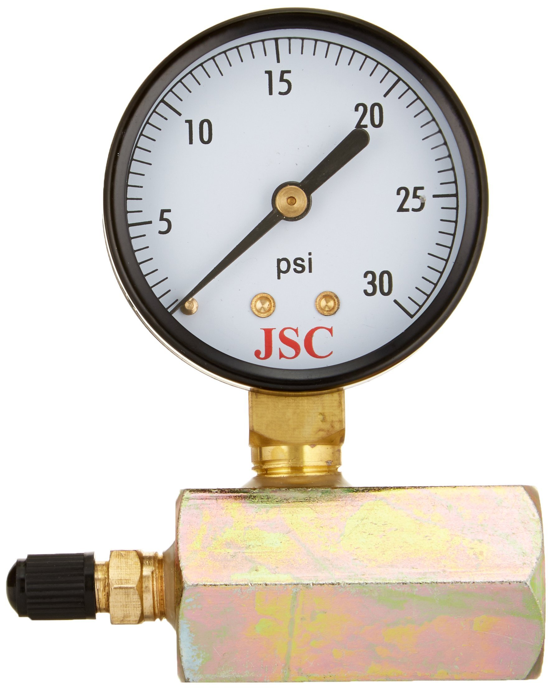 Jones Stephens G64-030 30-Pound Gas Test Gauge Assembly
