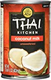 Thai Kitchen Pure Coconut Milk, 13.66 Fluid Ounce (Pack of 4)