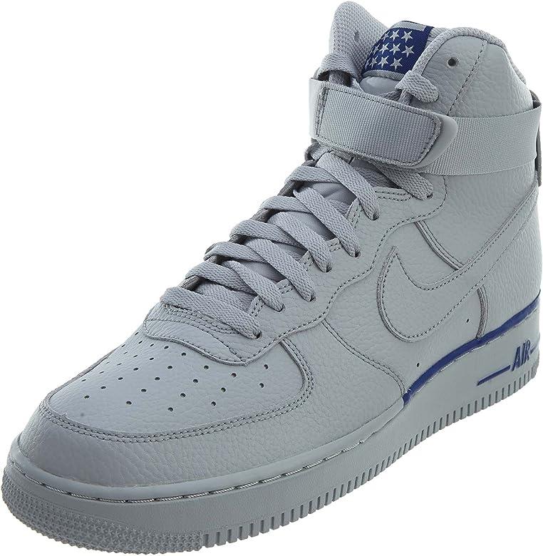 Aeródromo Desventaja Gimnasio  Amazon.com: Nike Air Force 1 High '07 Lv8 - Zapatillas de ...