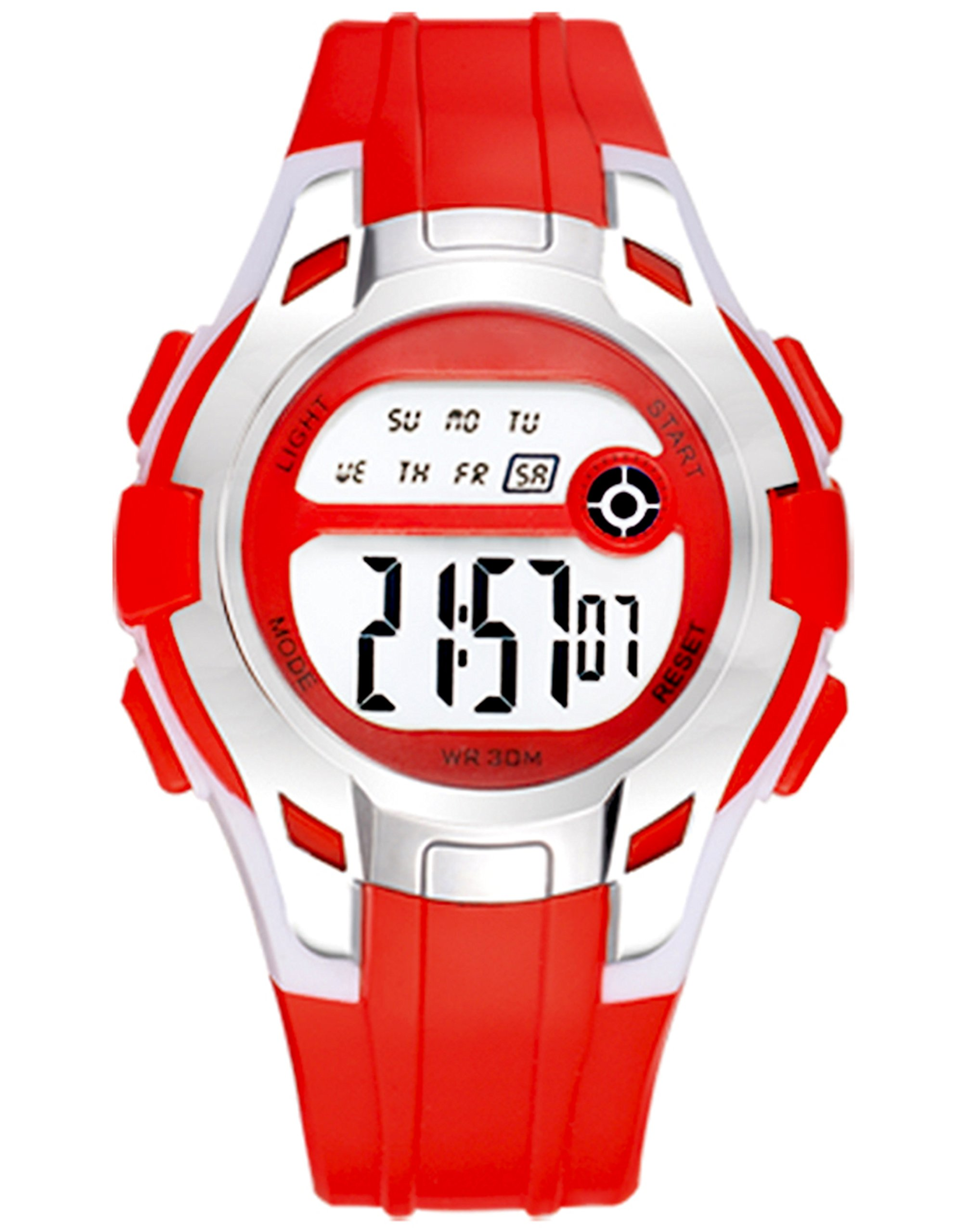 TIME UP Digital Steel Style Dial Alarm Multi-Functions Sports Watch for Kids-KMR-8561112-7 (B07CFTT2PN) Amazon Price History, Amazon Price Tracker