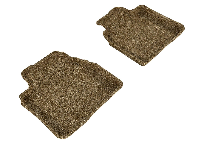 3D MAXpider Complete Set Custom Fit Floor Mat for Select Mazda6 Models Tan Classic Carpet